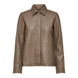 Selected Moon Leather shirt